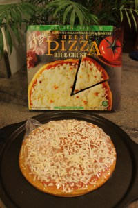 Amy's Gluten Free Cheese Pizza IMG_0512