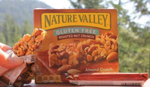 Nature Valley Gluten Free Roasted Nut Cruch Bars