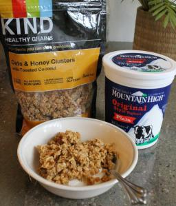 144 kind oat and honey granola